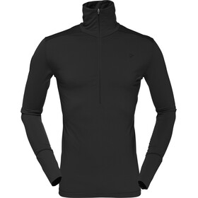 Norrøna M's Wool Zip Neck Caviar